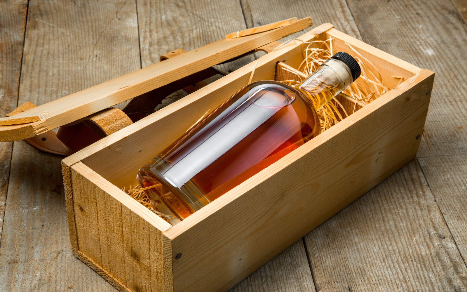 boxed whiskey for hubspot LP